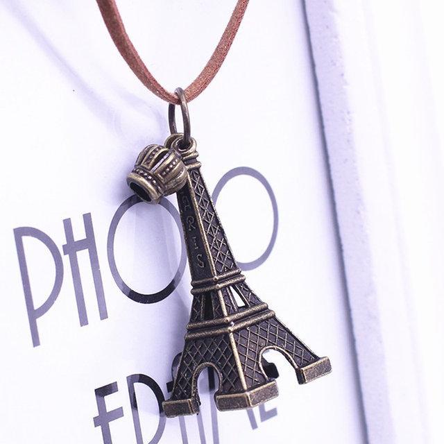 Подвеска Эйфелева башня на шею