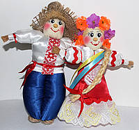 Украинская парочка, сувенир, оберег