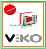 Бокс скрытой установки Viko на 6 автоматов Щиток