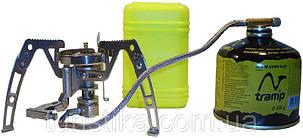 Горелка газовая складная с пьезоподзигом, со шлангом Tramp TRG-010, фото 2