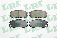 Тормозные колодки передние Hyundai Tucson 2004-->2010 LPR (Италия) 05P1369