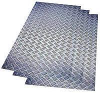 Лист рифленый  1,0 2B AISI 304 стали, 1,2, 1,5, 2,0, 3,0, 4,0 2В+PVC листы рифленые гост, вес,  купить, цена