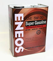 Масло моторное Eneos Super Gasoline SM 5W-30 100% Synthetic 4лит