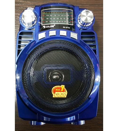 Радио GOLON RX BT03