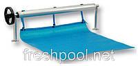Сматывающее устройство - роллета для накрытия бассейна. 5,4-7,1 м На фланцах.