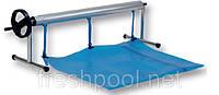 Сматывающее устройство - роллета для накрытия бассейна.2,7 -4,4м На стойках., фото 1