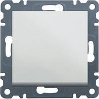 Выключатель крестовидный Lumina-2, белый, 10АХ/230В Hager WL0030