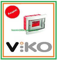 Бокс скрытой установки Viko на 8 автоматов Щиток