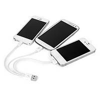 USB кабель Samsung+ iPhone 4/5/6 3in1
