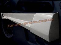Накладки на пороги универсальные №4 из стеклопластика на Chevrolet Cruze 2012-2015 хэтчбек
