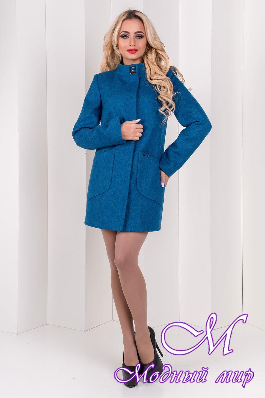 Красивое женское осеннее пальто (р. S, M, L) арт. Мирта шерсть №9 - 9509