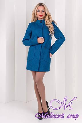 Красивое женское осеннее пальто (р. S, M, L) арт. Мирта шерсть №9 - 9509, фото 2