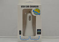 Автомобильная USB зарядка на 2 выхода