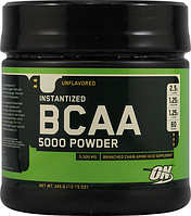 БЦАА, Optimum Nutrition, BCAA 5000 Powder, 350 gram, 60 порц
