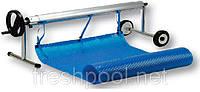 Сматывающее устройство - роллета для накрытия бассейна. 2,7-4,4 м На колесах и стойке., фото 1