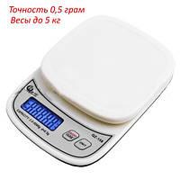 Весы кухонные QZ-158 до 5кг, 0,5 грам с посветкой, фото 1