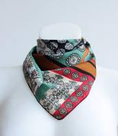 :Платки:Шелк+Полиэстер:Шейный платок, арт. 570_3
