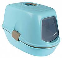 Туалет Trixie Berto Top Litter Tray для кошек закрытый, с фильтром, 39×42×59 см