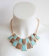 :Бижутерия:Красивое шейное украшение, арт. AL-10413_ментол