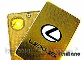 """Электроимпульсная зажигалка USB """"LEXUS"""""""