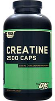 Креатин, Optimum Nutrition, Creatine 2500, 300 caps