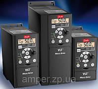 Ремонт преобразователей частоты ф. Danfoss VLT Micro Drive FC51