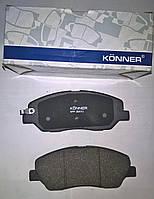 Тормозные колодки передние  Hyndai Santa Fe  2006-2012
