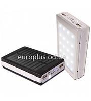 POWER BANK SOLAR + LED+30800MAH 905S