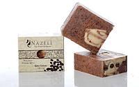 Натуральное оливковое мыло с добавлением кофе 125 г