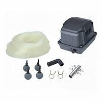 Комплект аэрации AquaKing Set AK²-20  (Мембранный компрессор для пруда, септика, водоема, УЗВ)