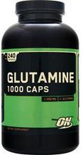 Глютамін Optimum Nutrition Glutamine (1000mg)240 caps