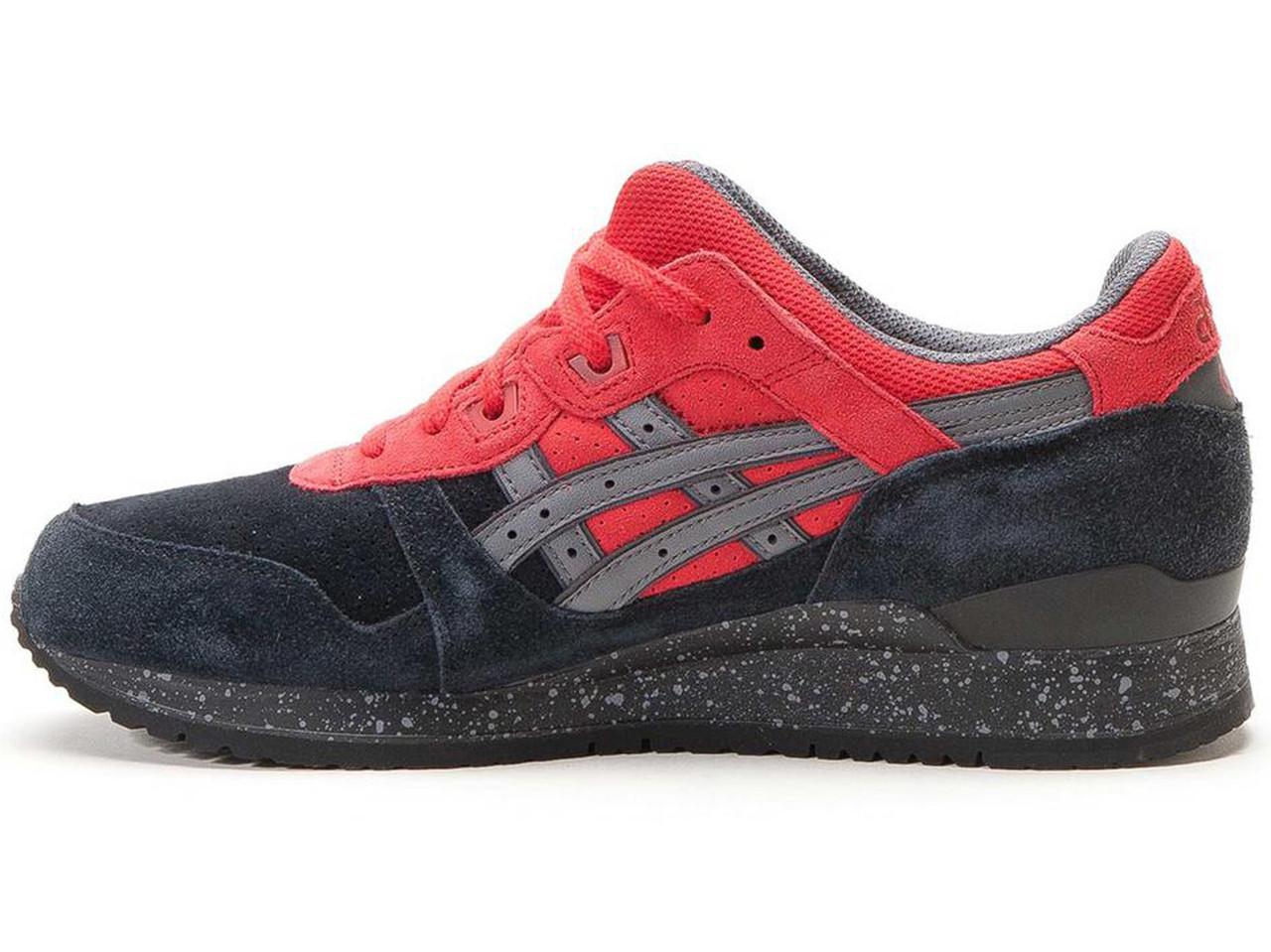 572931c79b5e Мужские кроссовки Asics Gel Lyte III Bad Santa Christmas Pack Black Red  (Реплика ААА