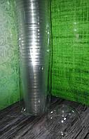 Пластиковая куполообразная крышка ПЕТ с отверстием под соломку