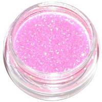 Сыпучие блестки-глиттеры 17 Розовый