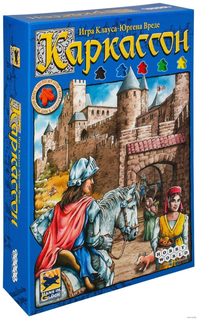 Настольная игра Каркассон. Мир Хобби