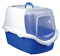 Туалет Trixie Vico Easy Clean Litter Tray для кошек закрытый, с фильтром, 40×40×56 см