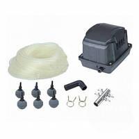 Комплект аэрации AquaKing Set AK²-30  (Мембранный компрессор для пруда, септика, водоема, УЗВ)