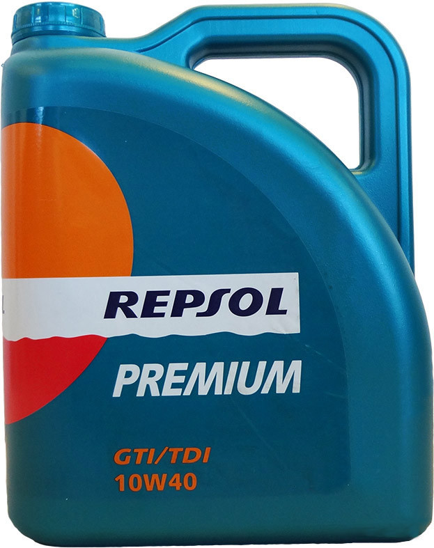 Моторное масло REPSOL PREMIUM GTI/TDI 10W40 (5л) полусинтетика для автомобилей