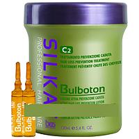 Активный лосьон от выпадения волос BES SILKAT BULBOTON (12×10 мл.), Силкат Бульботон