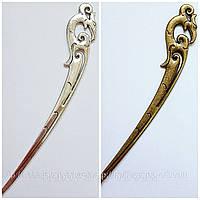 Закладка для книг Коршун серебро, бронза