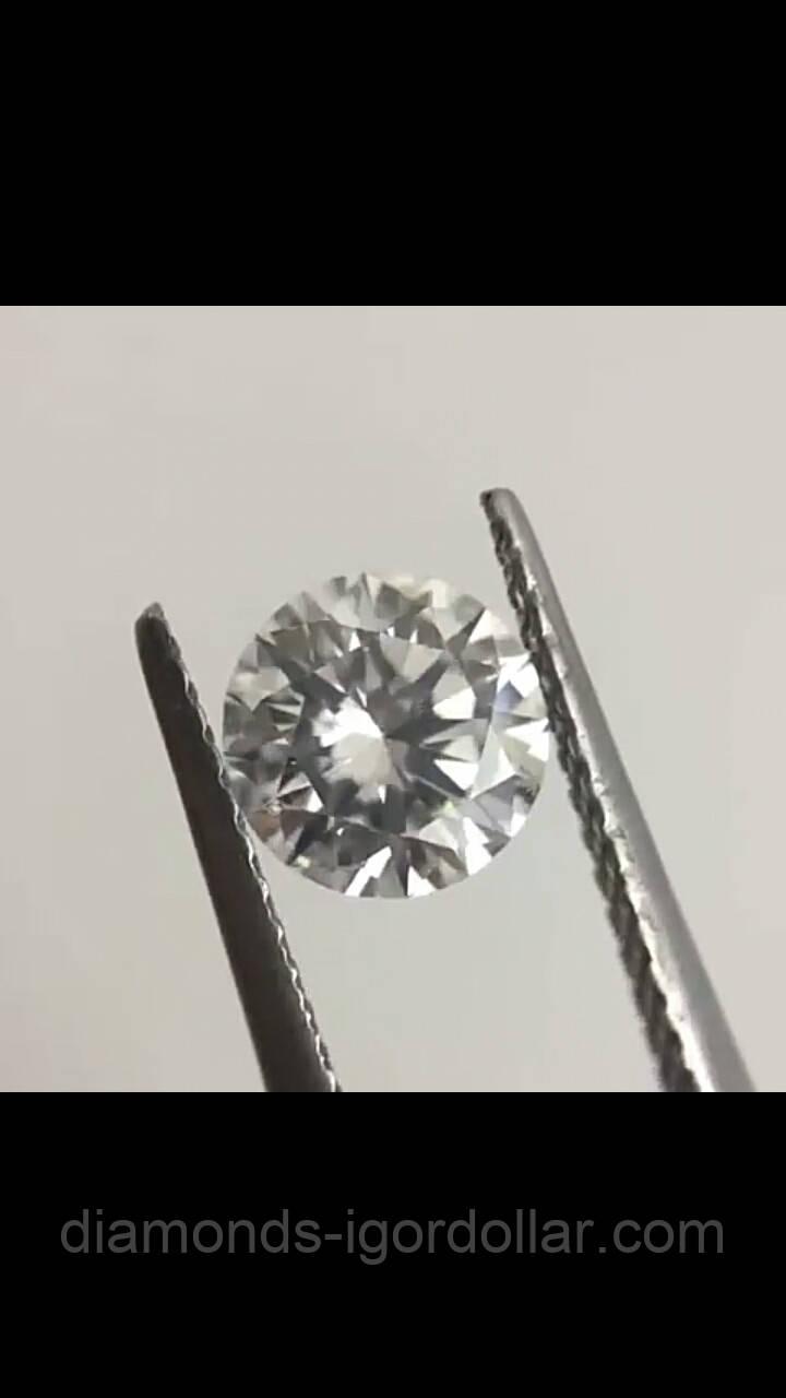 Бриллиант натуральный природный 5,1 мм 0,51 Кт GIA