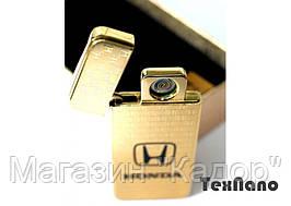 """Электроимпульсная зажигалка USB """"HONDA"""" hd"""