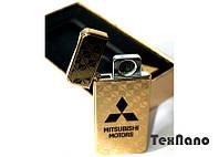 "Электроимпульсная зажигалка USB ""MITSUBISHI"" hd"
