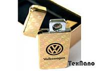 """Электроимпульсная зажигалка USB """"VOLKSWAGEN"""" hd"""