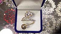 Кольцо женское Цветик