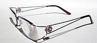 Очки для коррекции зрения COMFORT 3687-2 (рмц 60) (вставка изюмское стекло)