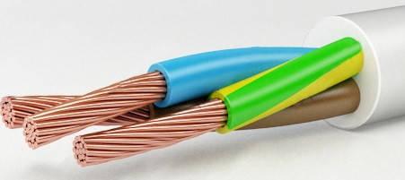 Провод гибкий ПВС 3х6 медь, фото 2