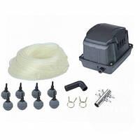 Комплект аэрации AquaKing Set AK²-40  (Мембранный компрессор для пруда, септика, водоема, УЗВ)