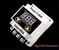 Реле напряжения Digi COP-80A DIN рейку