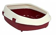Туалет Trixie Primo XL Litter Tray для кошек с рамкой, пластик, 56х25х71 см